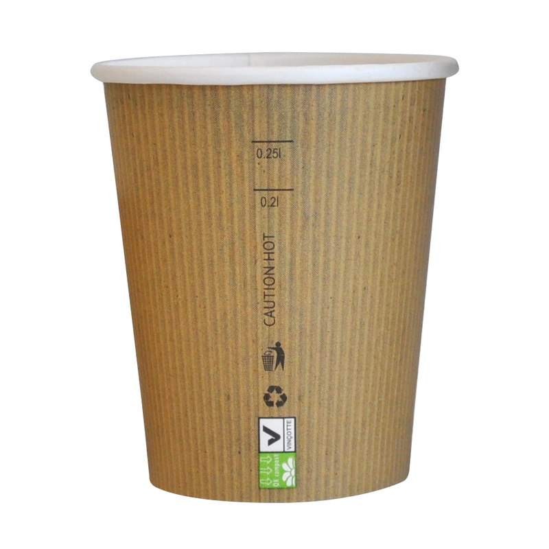 Brown Paper Nature Cups - 10 oz
