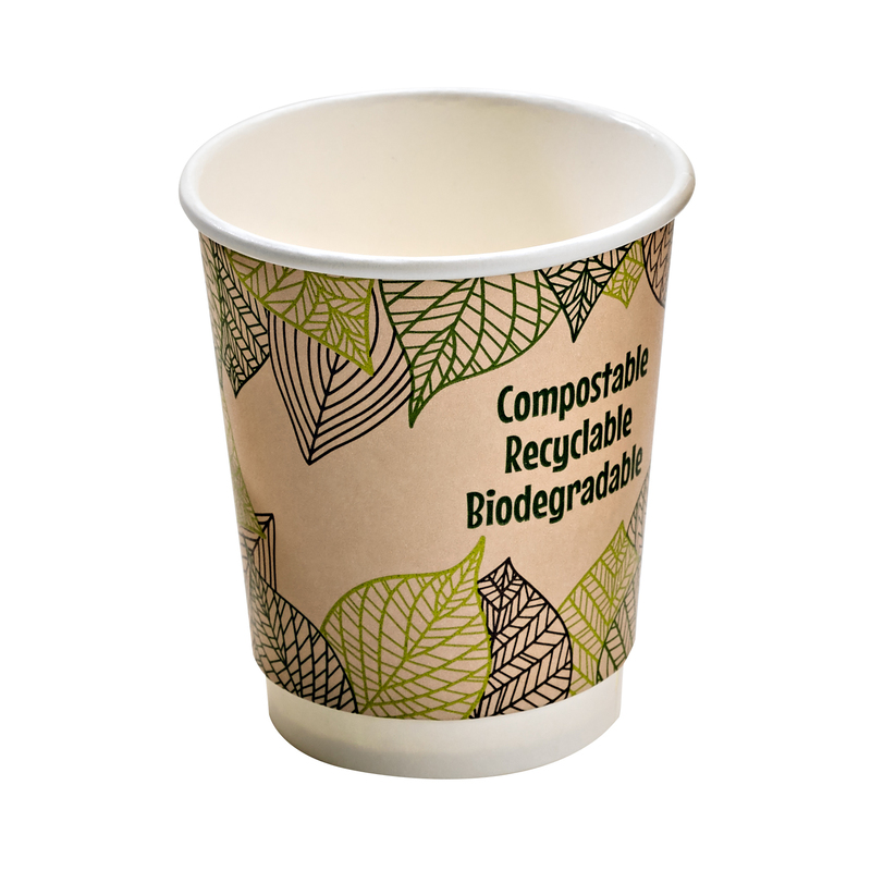 Double Wall Paper Cup With PLA Liner - 12oz