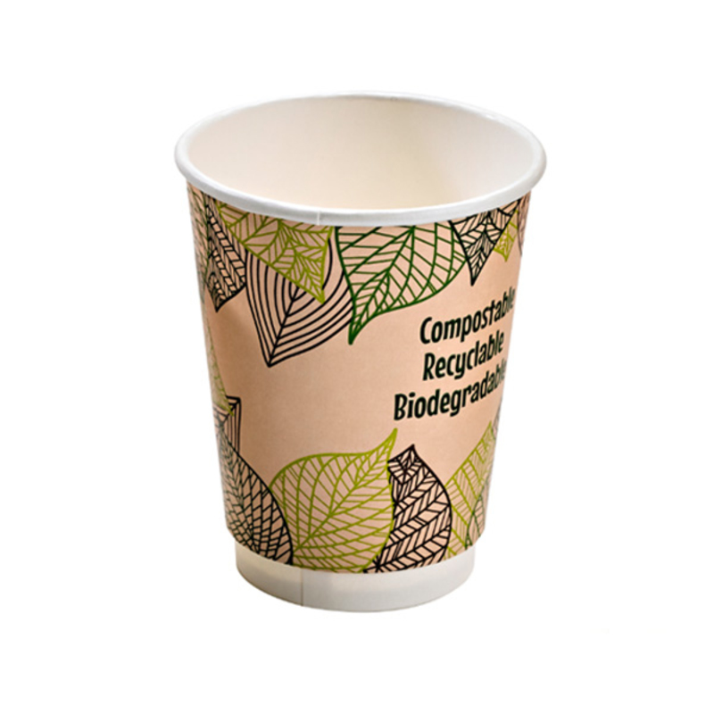 Double Wall Paper Cup With PLA Liner - 16oz