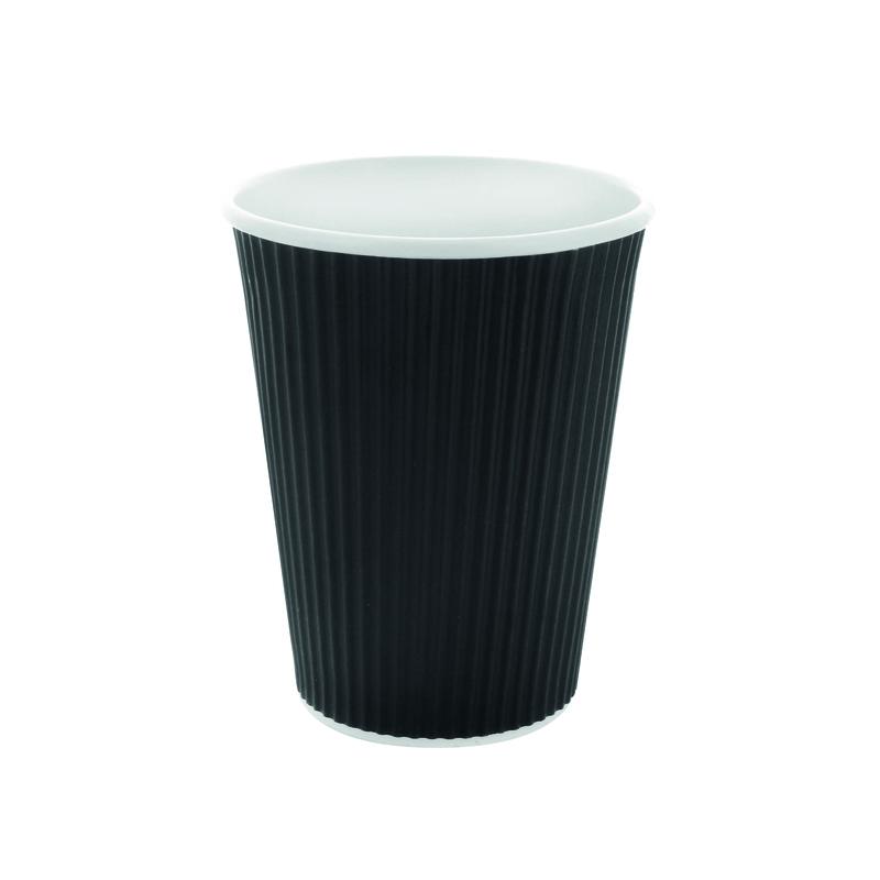 Black Ripple Cup - 10oz