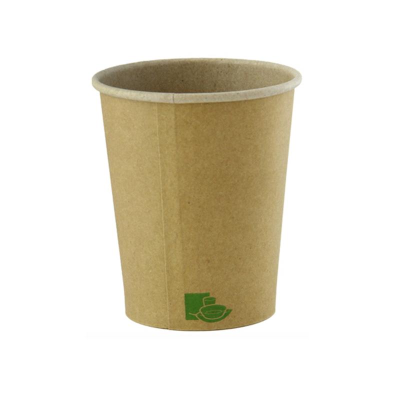 Zen Kraft Recyclable Paper Cups - 8oz