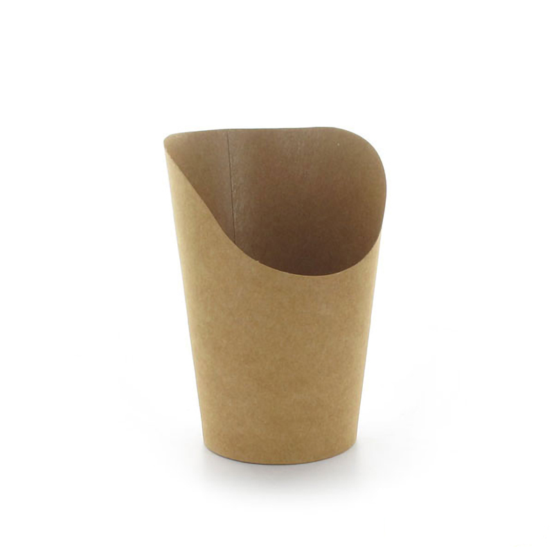 Kraft Wrap Cups H 3.9 in / Dia: 2.36 in