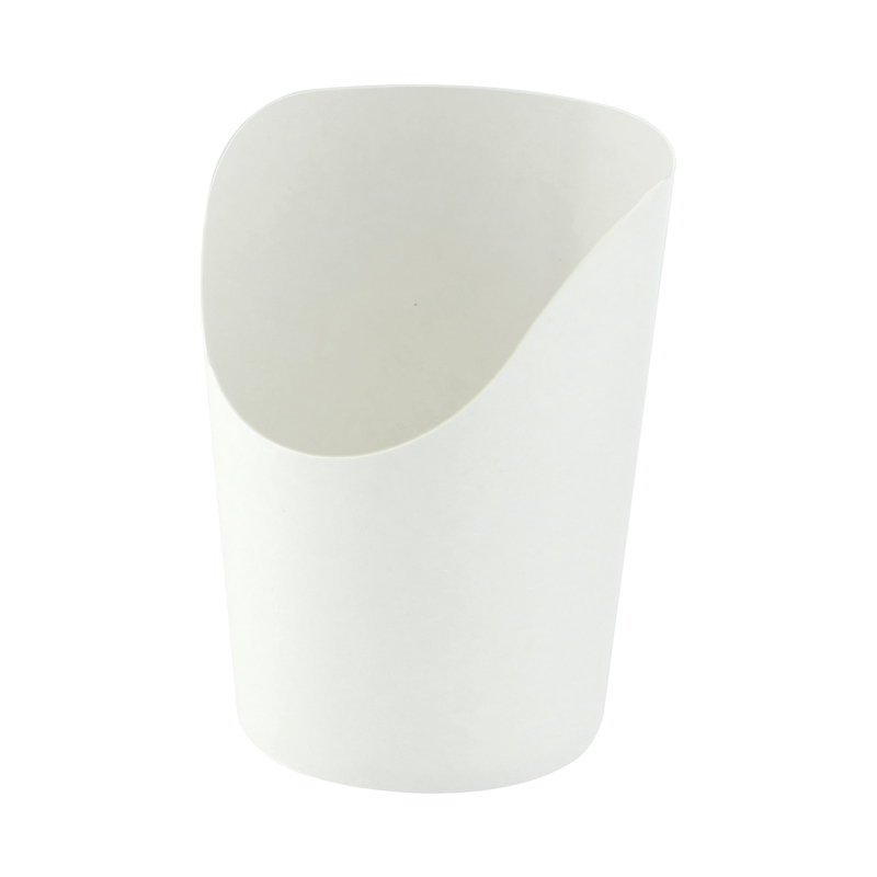 White Wrap Cups - 6 oz