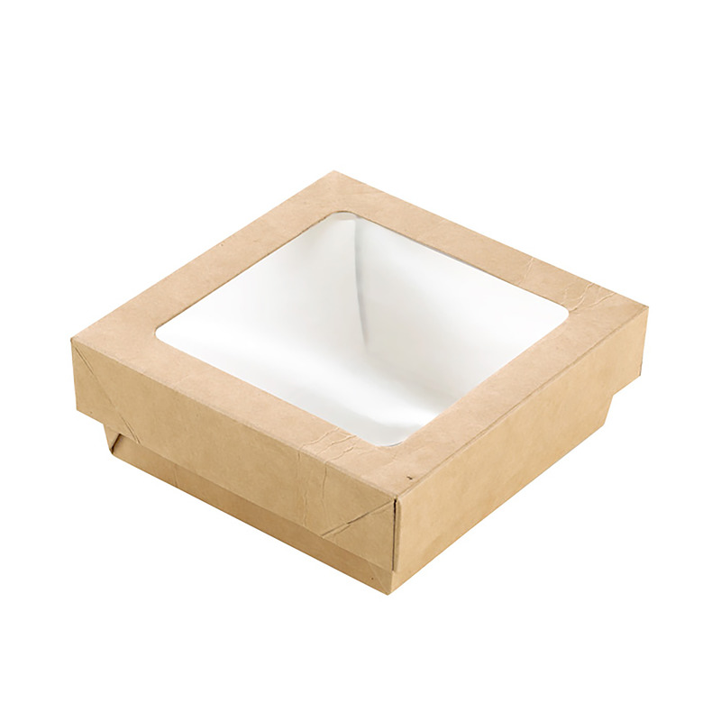 Small Square Kray Box With Window - 3.9 x 1.6 in.
