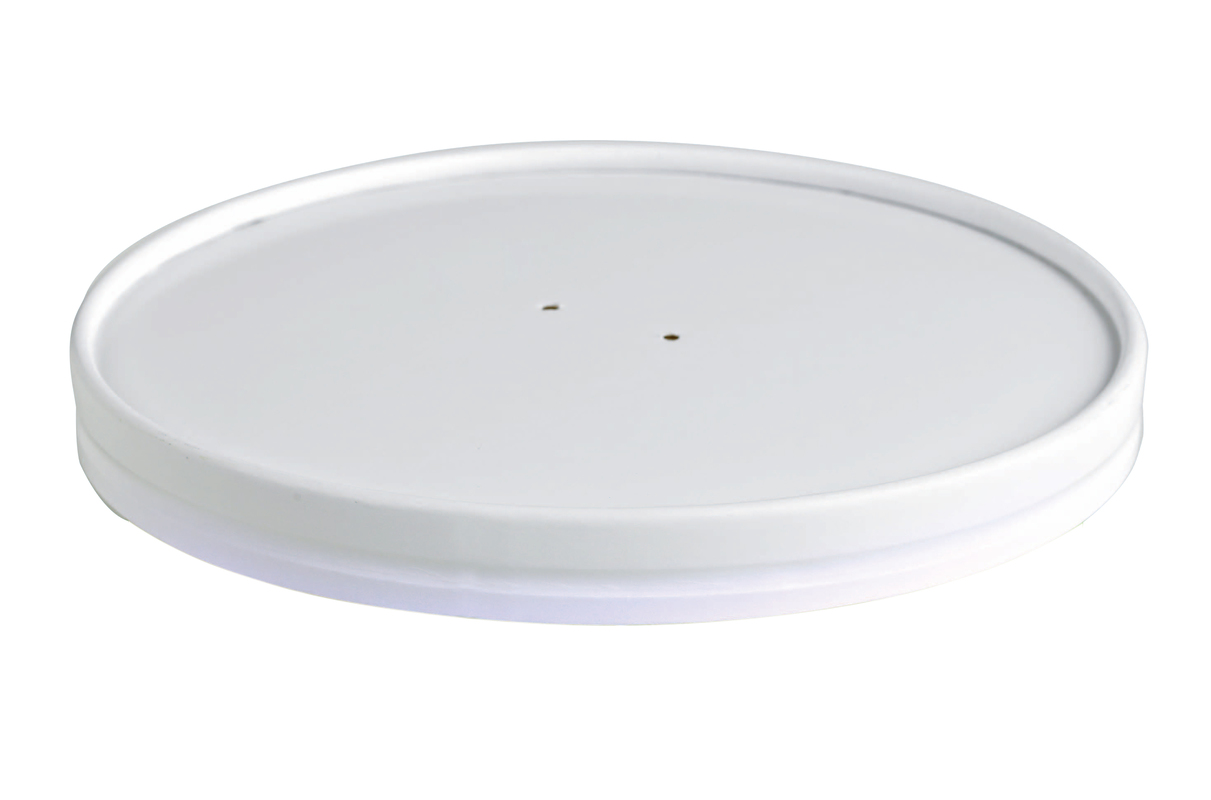 Vented Paper Lid Fits all Size Buckaty Ø: 5.9 in