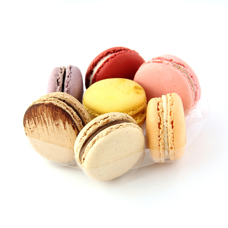 Combo Round Insert for 7 Macarons for 210SAMBOL155 & 210PC750B Ø: 5.1 in H: 0.7 in
