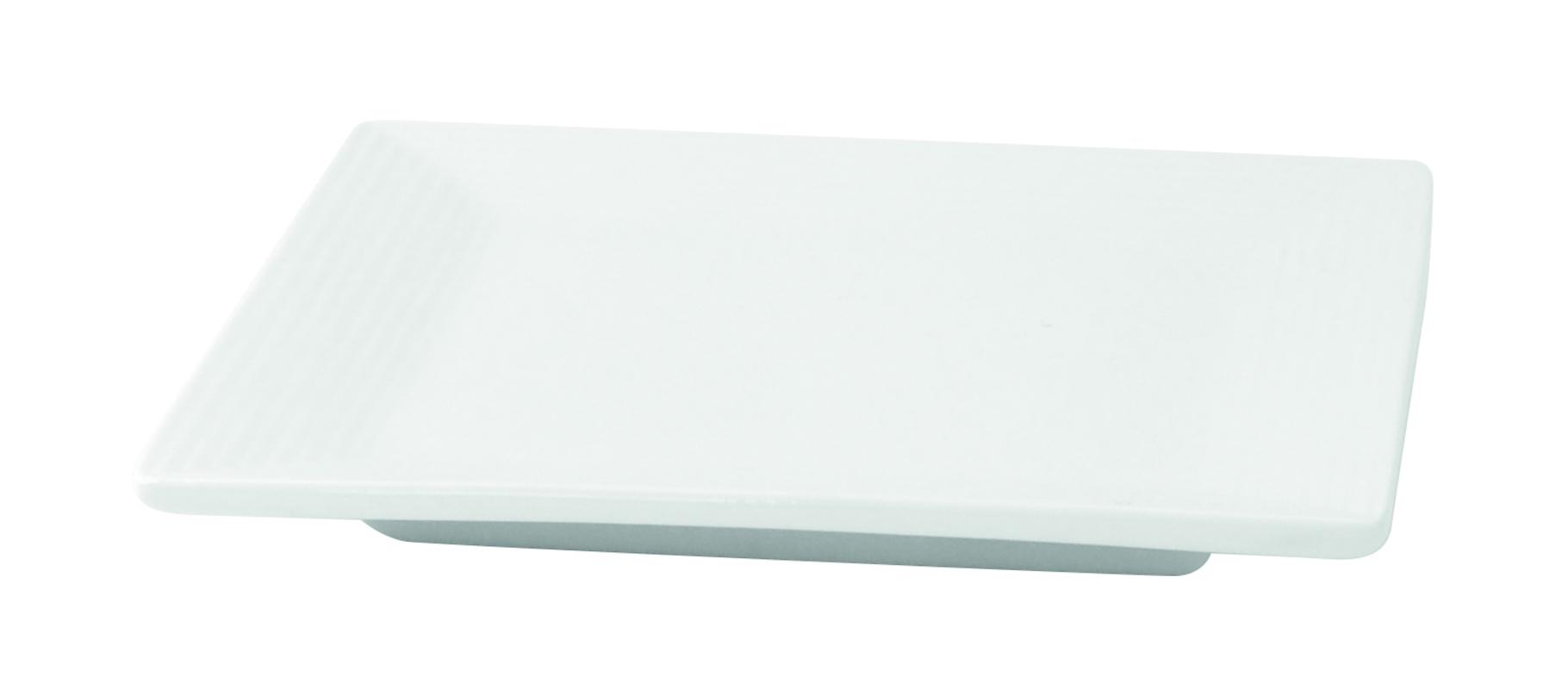 Mini Porcelain Plate - 3.9 x 3.9 x .4 in.