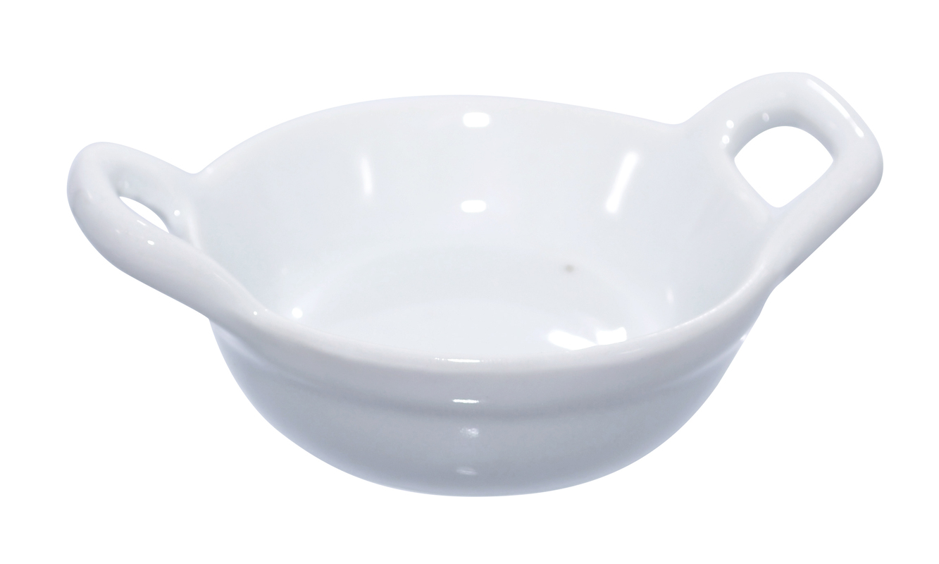 Mini Porcelain Casserole Dish - 1oz