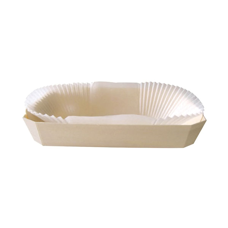 ROMEO - Wooden Baking Mold - 7.3 in. (Liners Included)