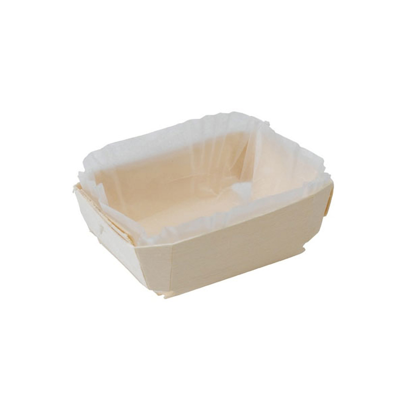 TRISTAN - Wooden Baking Mold - 7.2 in. (Liners Included)