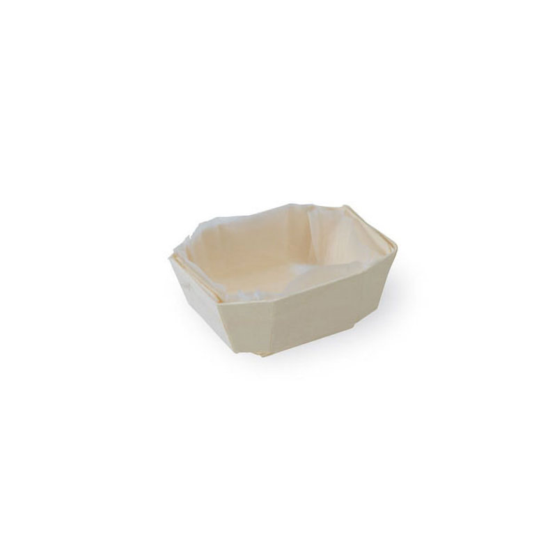MINIMI - Wooden Baking Mold - 1.5 x 1.1 x 1.1 in.