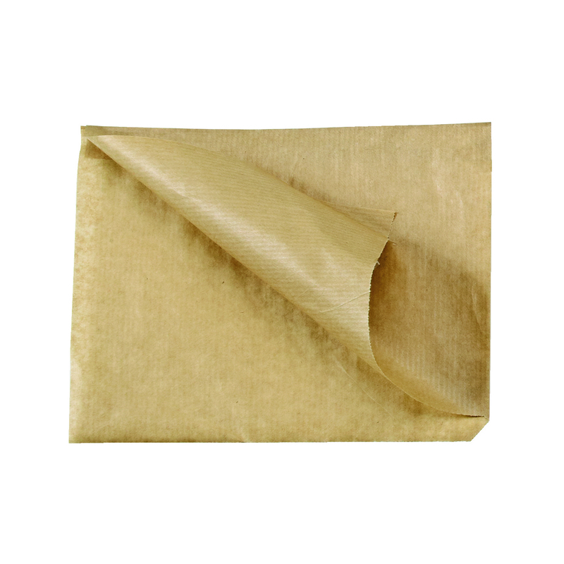 Brown Kraft Bag Opens On 2 Sides 6.5 x 6.5 in