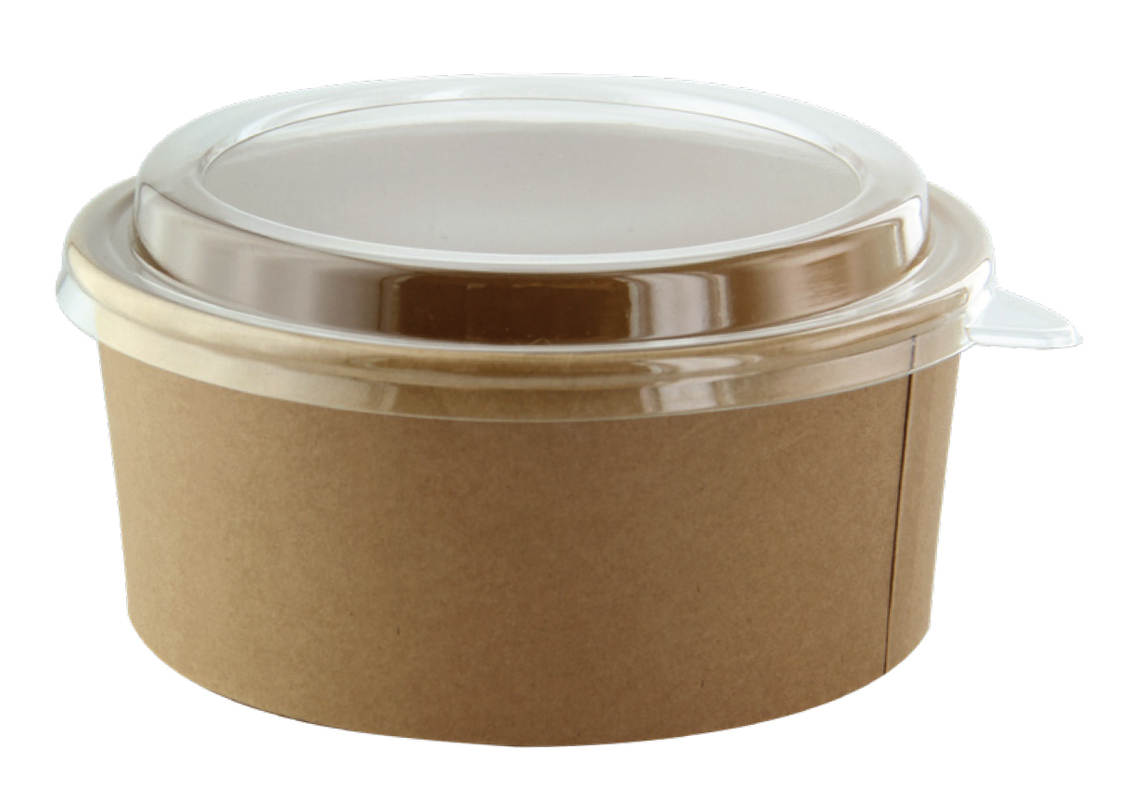 Round Kraft Salad Bucket - 52oz