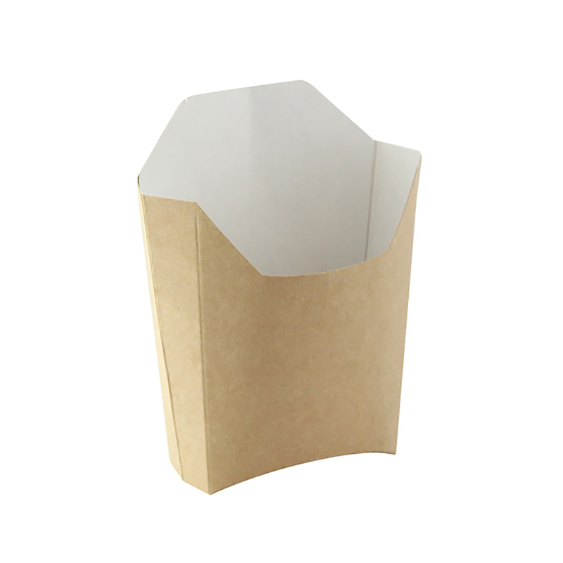 Large Kraft French Fry Pails 5.3 x 4.5 x 7.1 in