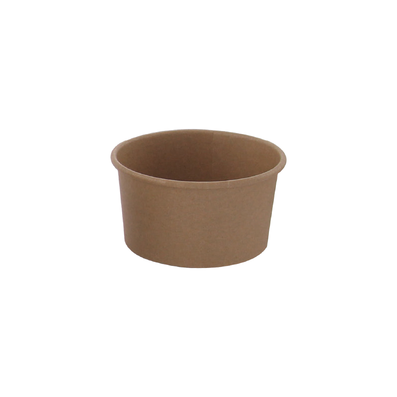 Brown Kraft Hot & Cold Paper Cup 9oz