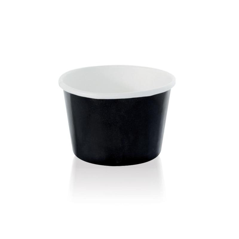 NOIR Black Paper Cup - 4.2 oz