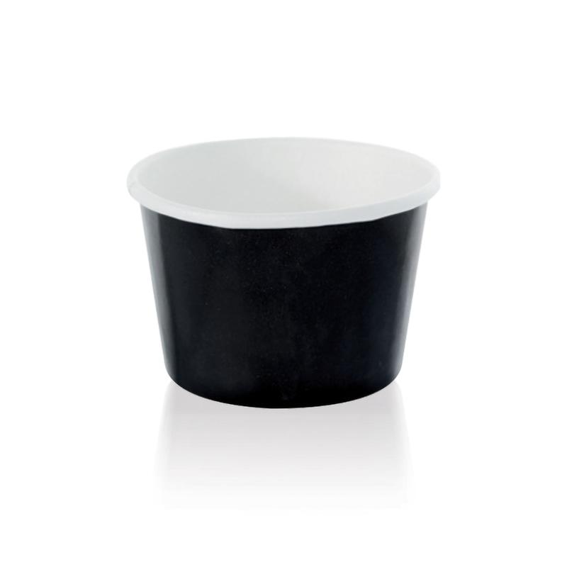 NOIR Black Paper Cup - 4.7 oz