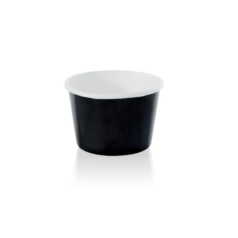 NOIR Black Paper Cup - 3.3 oz