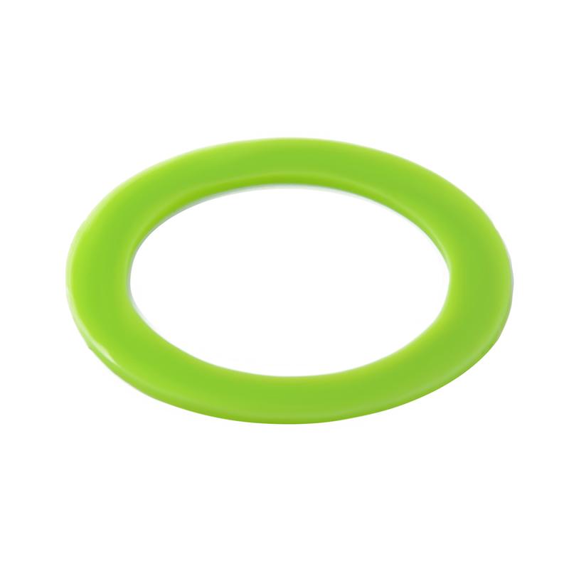 Lime Green Silicone Rings - Fits 210BOKA100, 210BOKA150, 210BOKA200