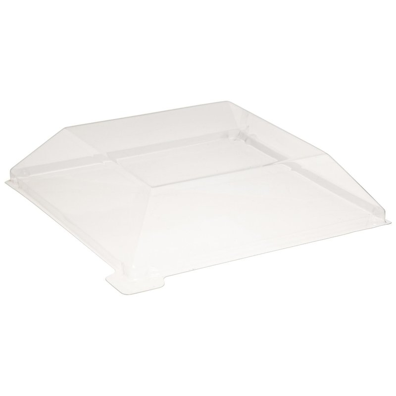 Clear Recyclable Lid for 210SAMBQ1313 - 5.11 x 5.11 x 0.78 in