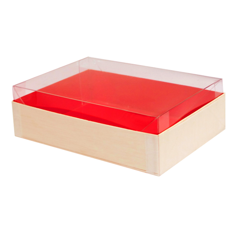 Clear Recyclable Lid for 210SAMRED120 6.33 x 4.48 x 1.96 in