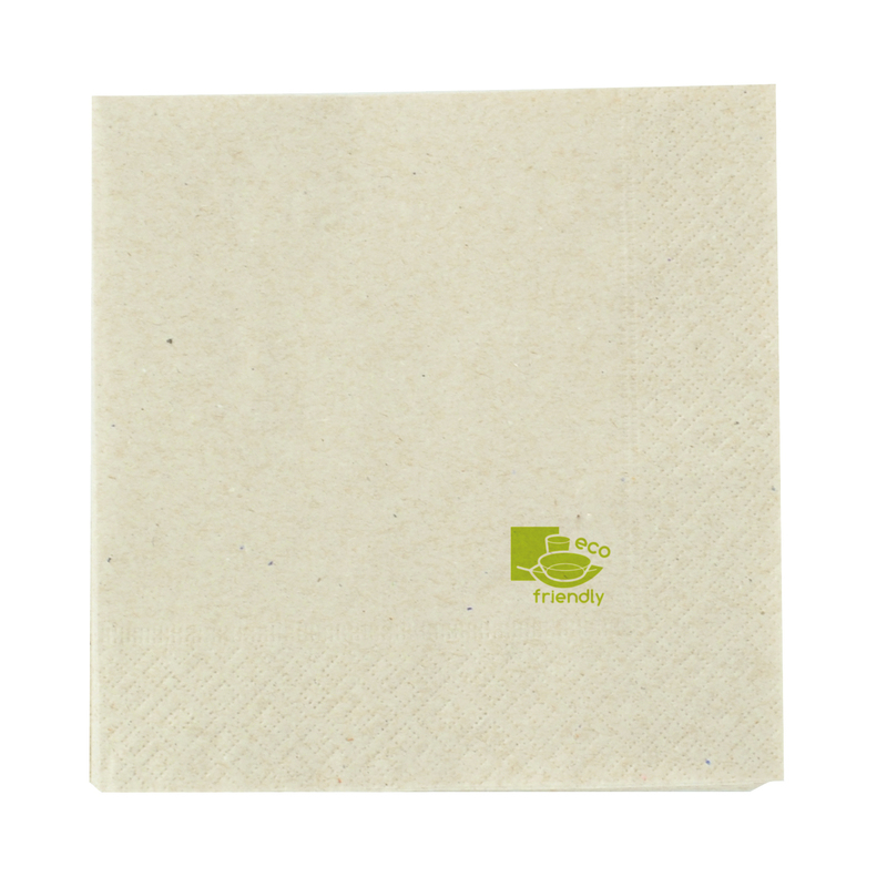 Kraft Tissue Napkin 2 Ply 1/4 Fold - 11.8 in.