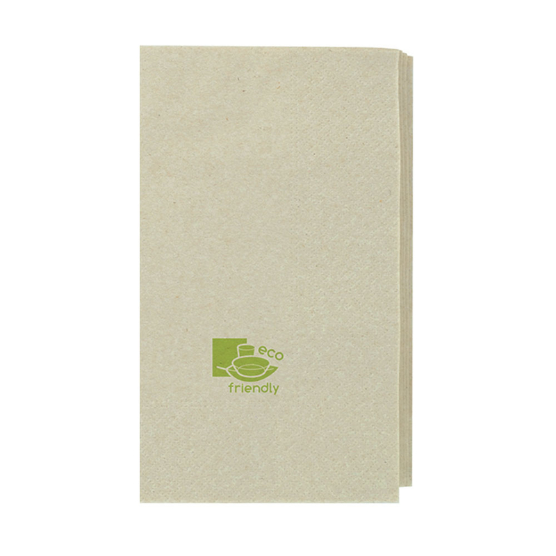 Kraft Tissue Napkin 2 Ply 1/4 Fold - 15 in.