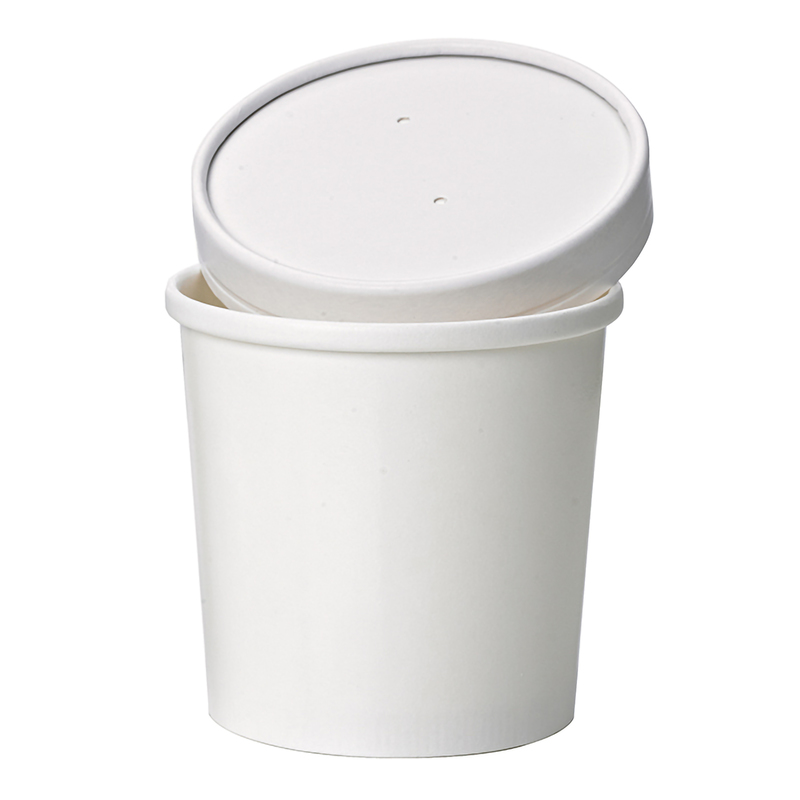 White Soup Cup - 12oz ⌀: 3.54in