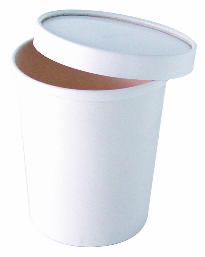 White Soup Cup - 20 oz - 3.8 in.