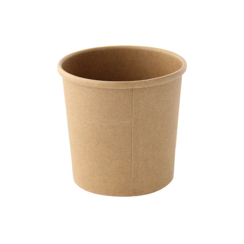 Brown Kraft Soup Cup - 12oz