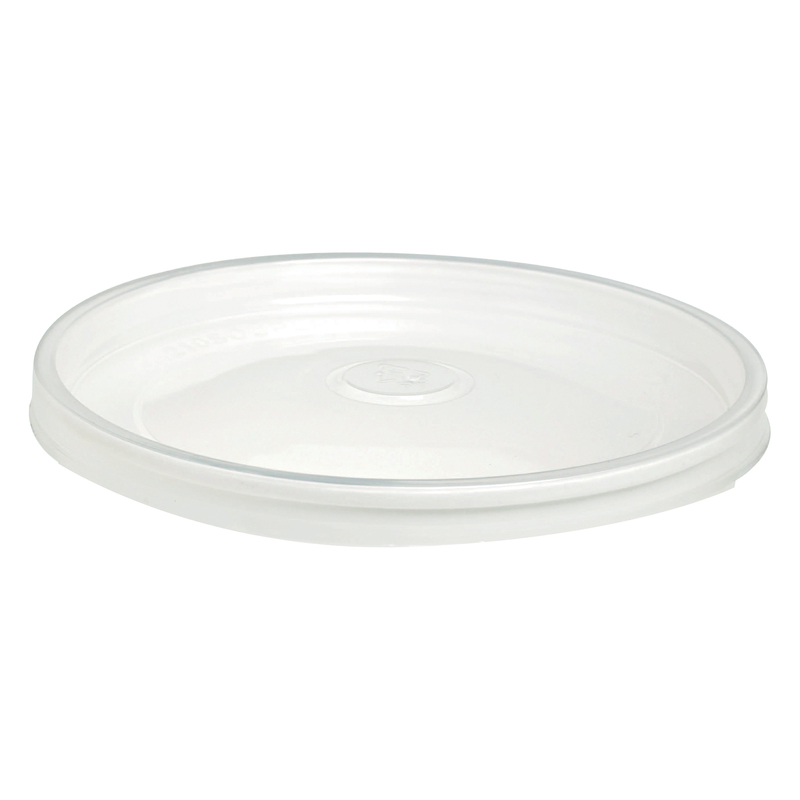 Clear PP Lid For Hot Food - Fits all Size Buckaty - 5.9 in.