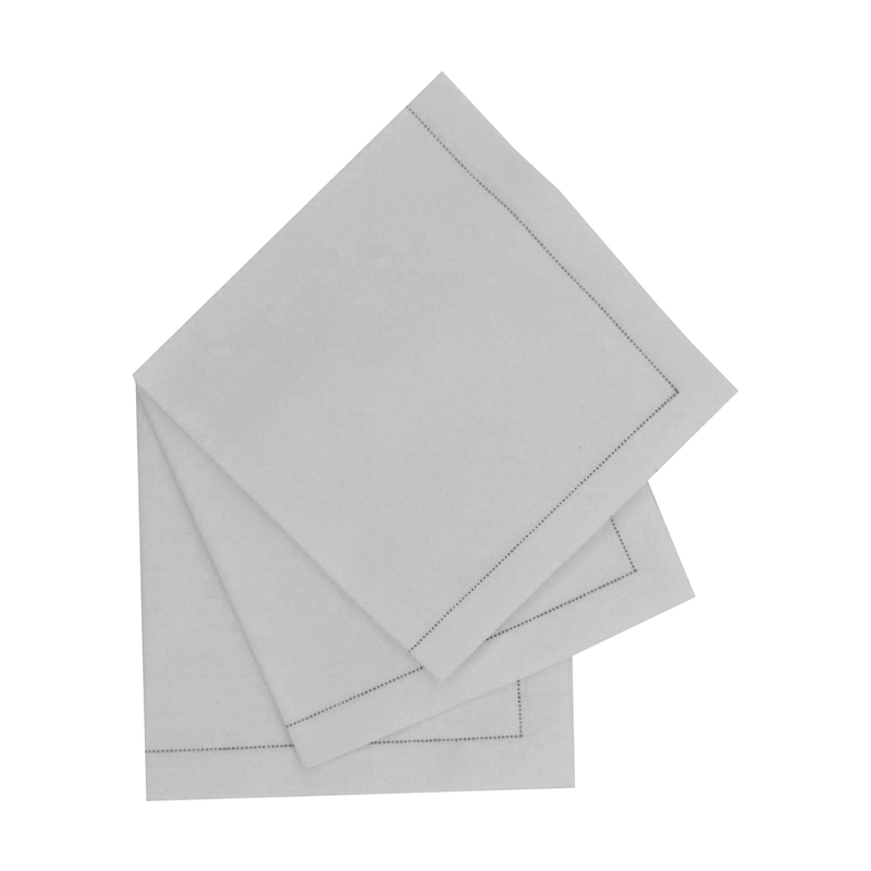 Luxury Cream Cotton Table Napkin - 15.8 in x 15.8 in