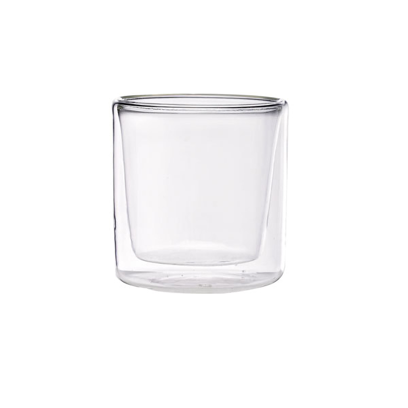 Double Wall Short Mini Glass 2oz