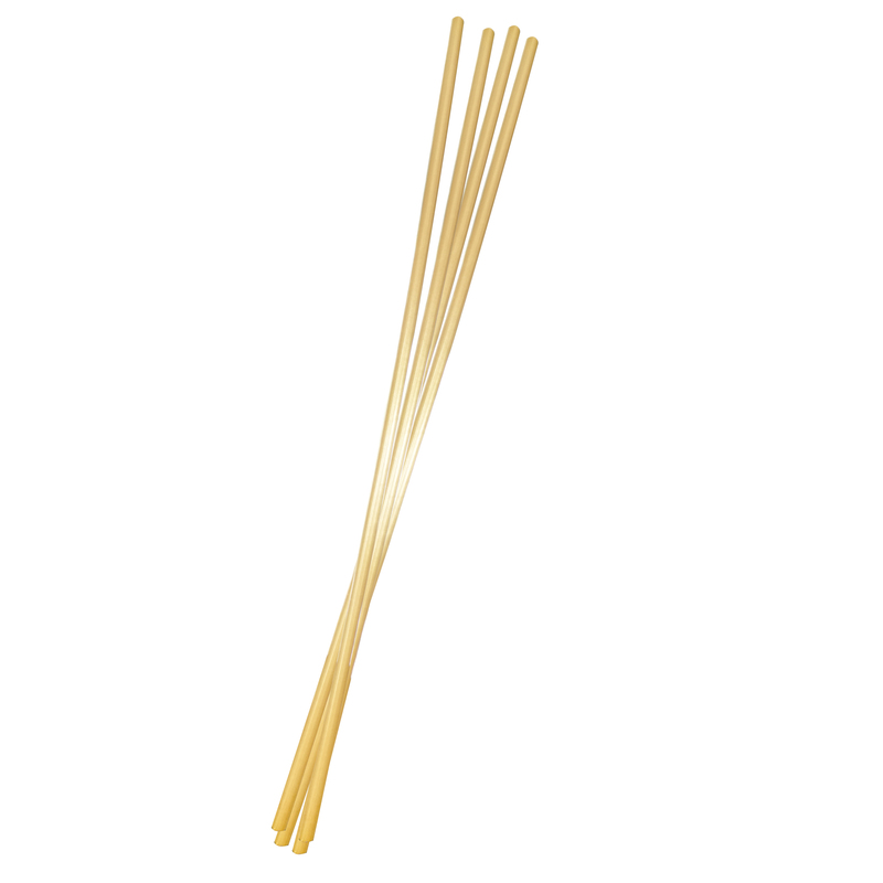 Natural & Durable Cocktail Wheat Straws - 5in