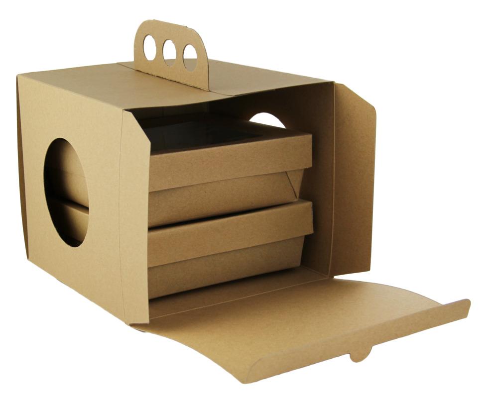 Brass Knuckles & Kraft Box VIP Lunchbox - 200 Sets