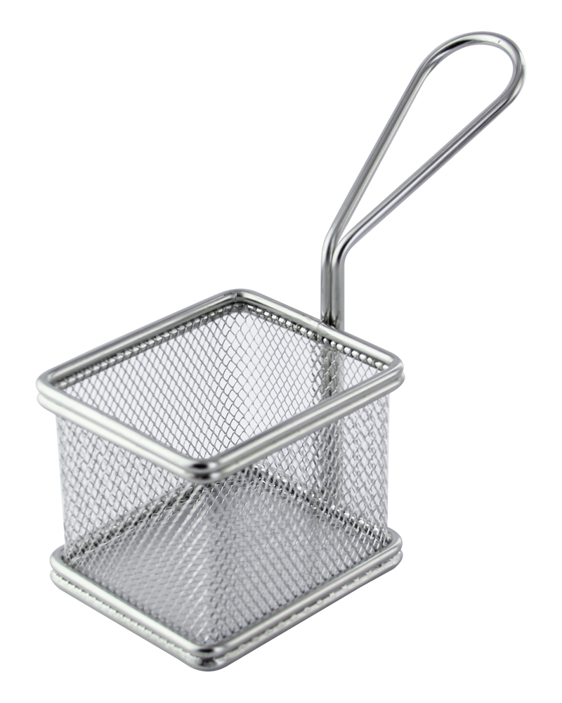 Small Stainless Steel Fry Basket - 3.3 in.