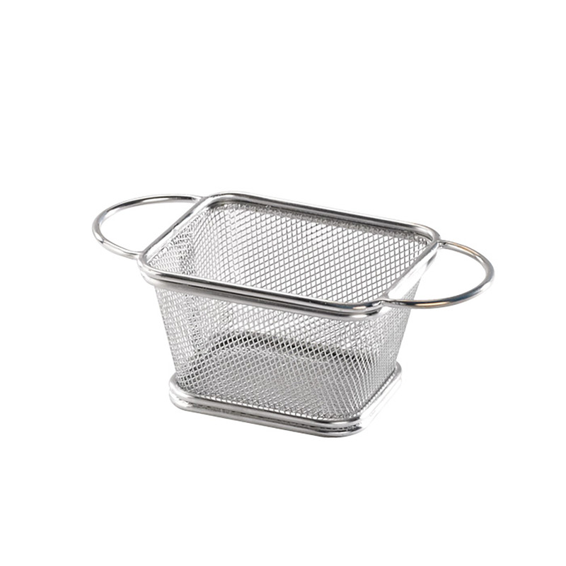 Rectangular Fryer Basket 4.1 x 3.3 x 2.5 in.