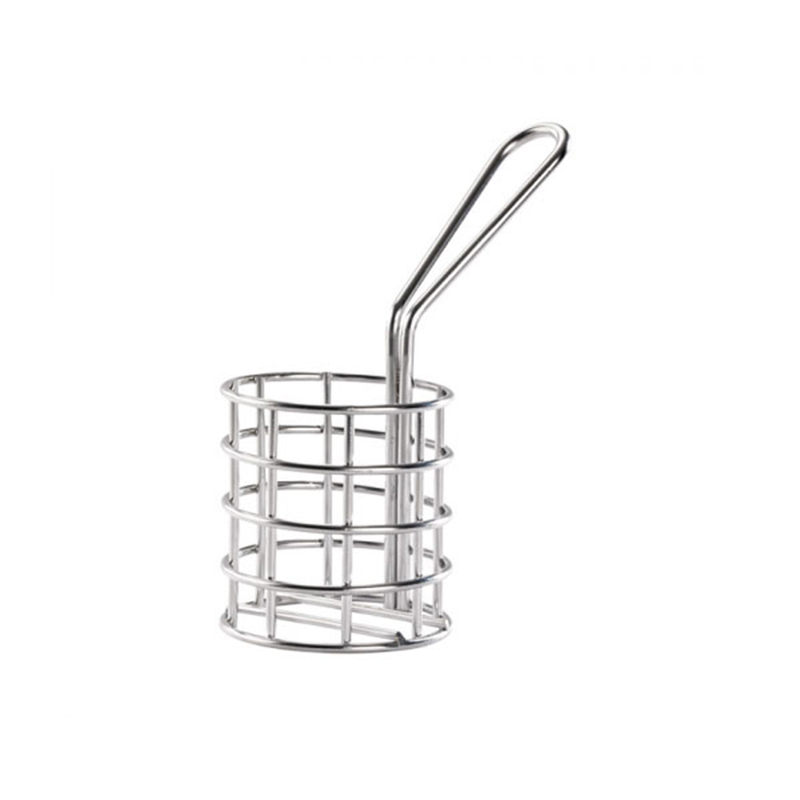 Round Fryer Basket - Dia: 1.8 - 2 in.