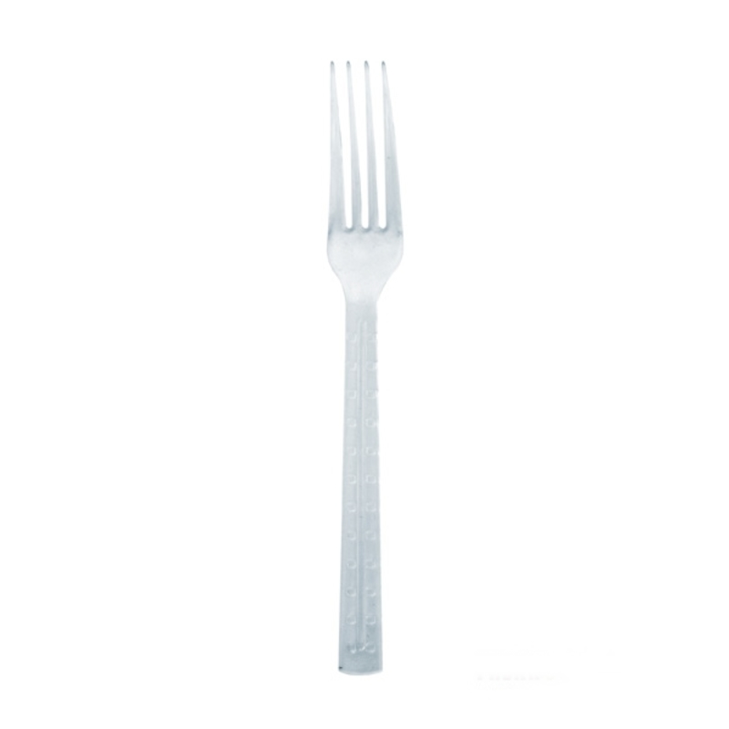 Clear Luxury Fork - 7.56 in.