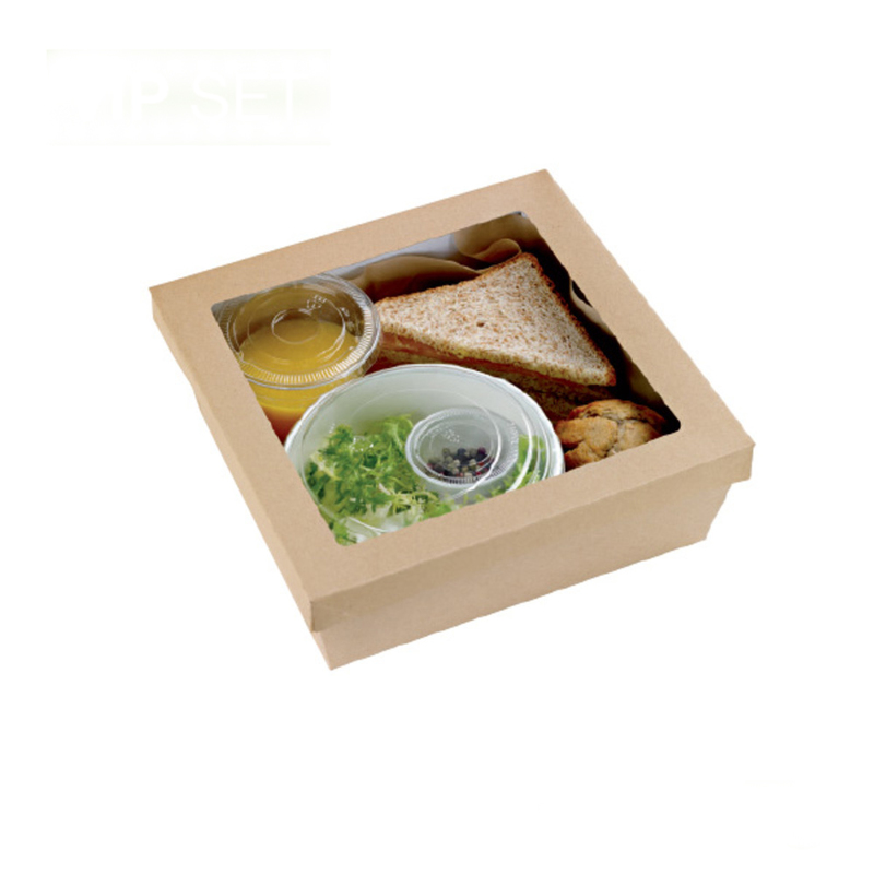 Kraft Box And Bucket VIP Lunchbox - 300 Sets