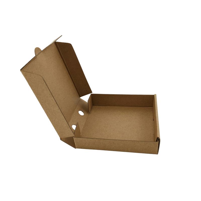 Mini Kraft Cardboard Pizza Box - 3.5 x 3.5 x 0.8