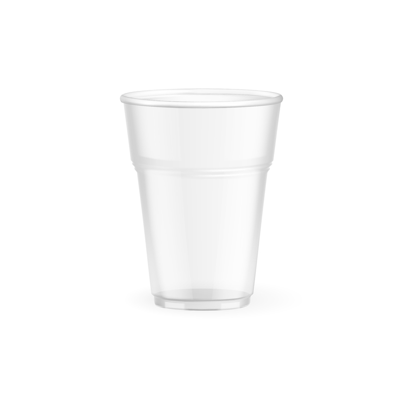 Biodegradable and compostable cold cups(corn)made from (PLA) an Eco friendly corn based resin - 8oz