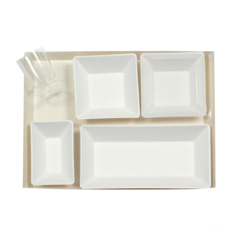 VIP Samurai Lunchbox With Eco-Design Dishes - 300 Sets