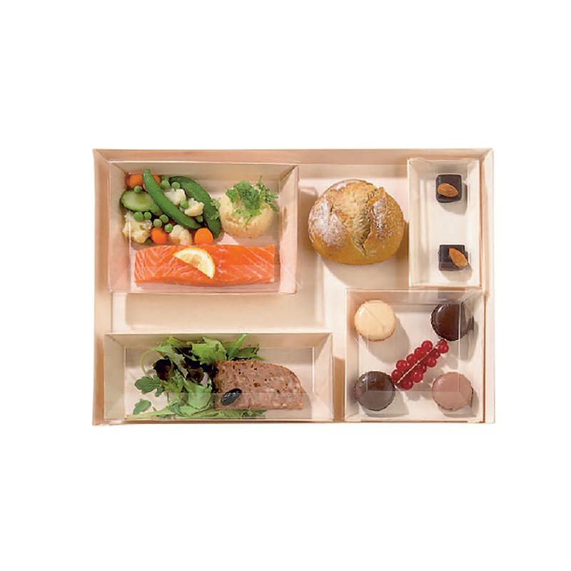 Samurai Wooden VIP Lunchbox - 100 Sets