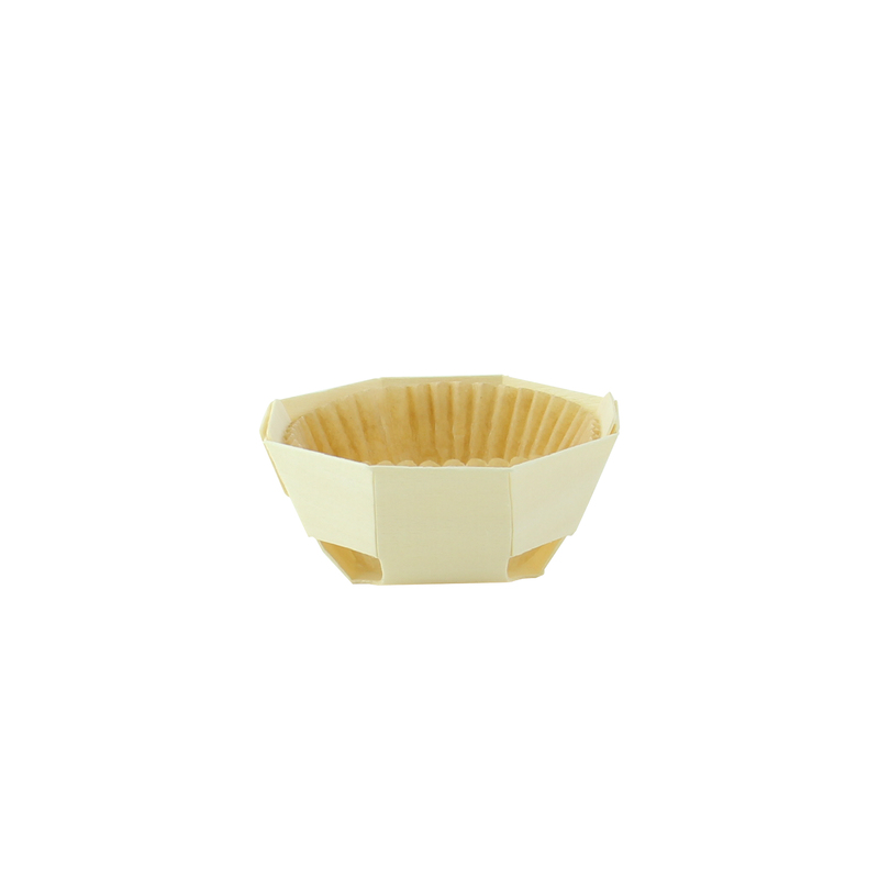 Round baking mold with liner - ⌀: 2.76in H:1.18in