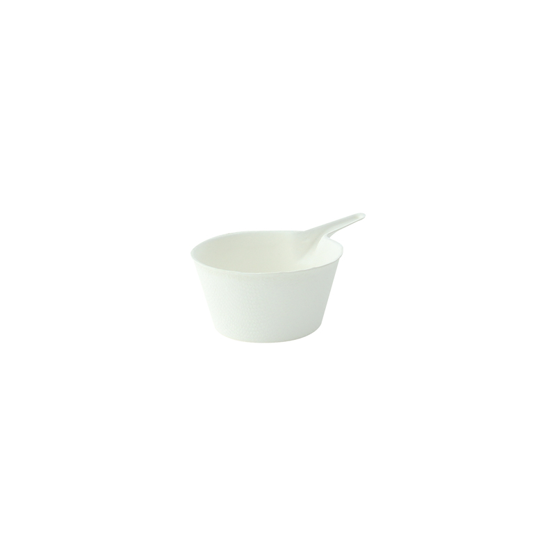 Bio n Chic Deep pan Sugarcane Plate - 3.6 x 2.2 x 1.18in