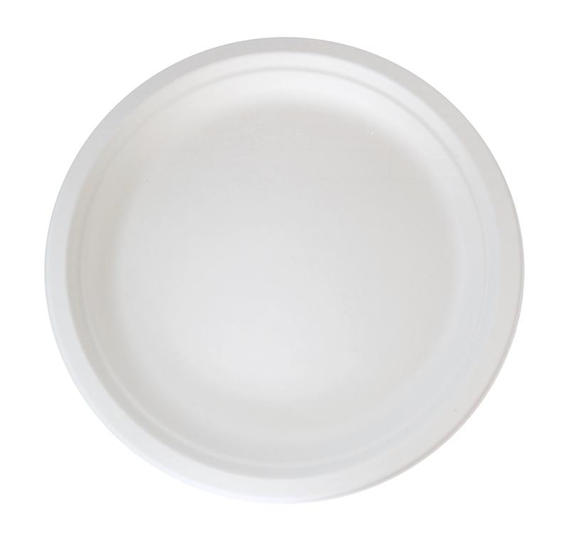 Sugarcane Round Plate Ø: 10 in