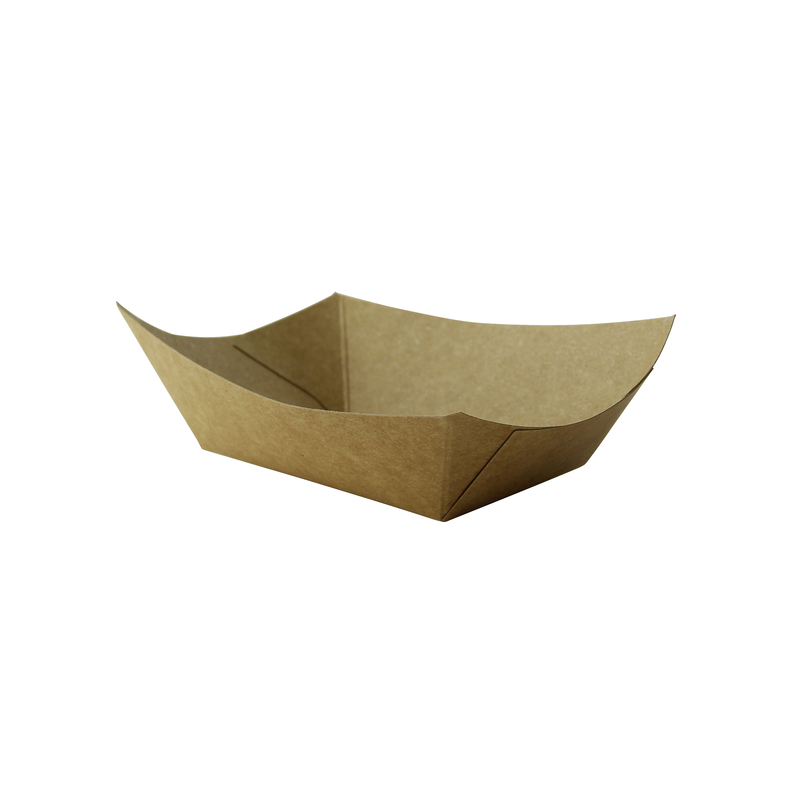 Kraft Paper Boats - .5 lb - 5.4 in.