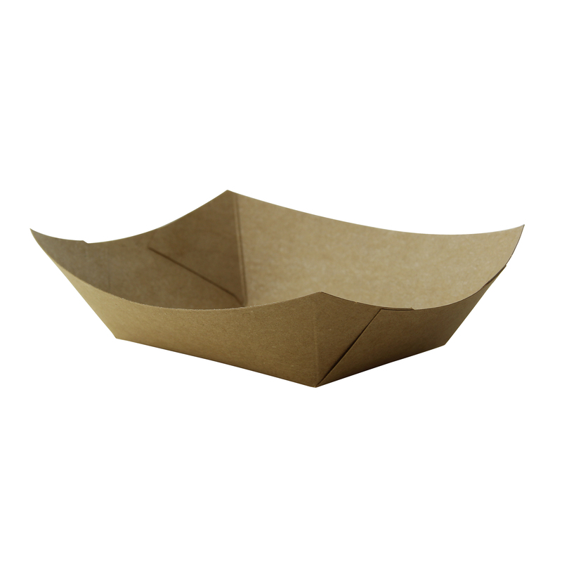 Kraft Paper Boats - 1 lb - 6.3 in.