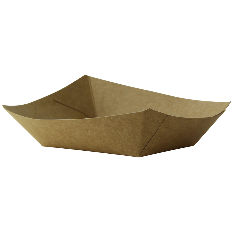 Kraft Paper Boats - 2 lb - 6.7 in.